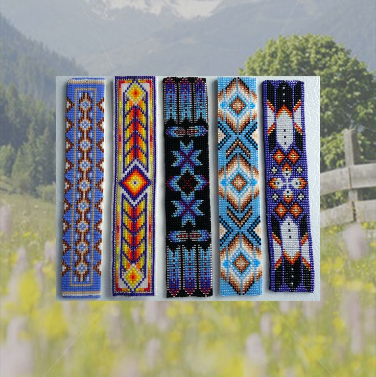 Free Loom Bead Patterns | Out Of The Flames: Ebook Of Native Designs