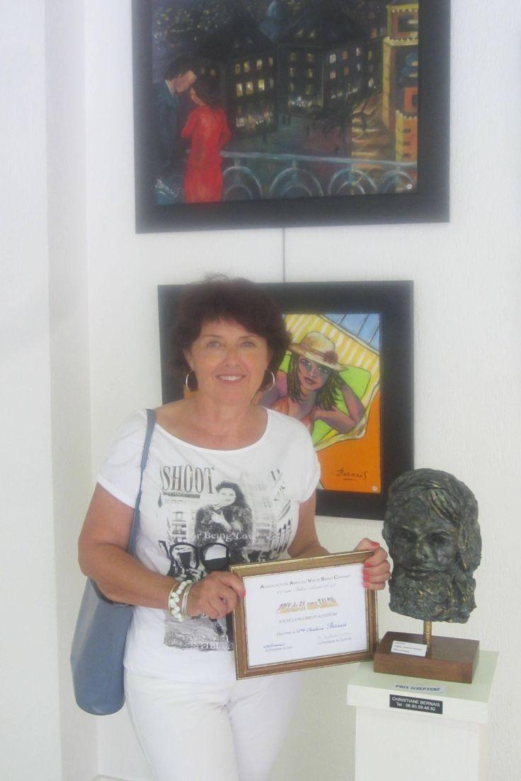 St cannat  bouches du Rhône ( prix de sculpture )