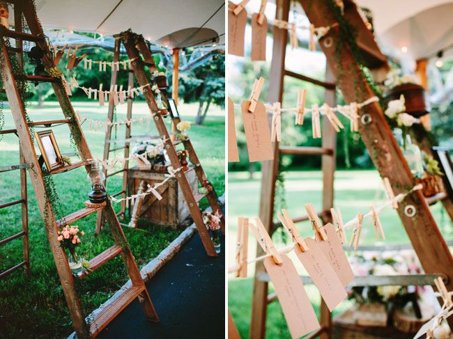 Rustic Chic Backyard Wedding: Michelle + Jimmy