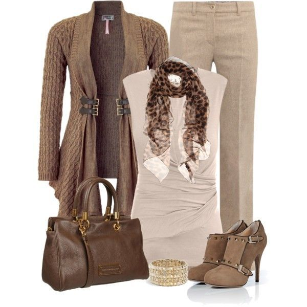 28 Trendy Polyvore Outfits Fall/Winter  I'd say no to these shoes and the bag but everything else yes.