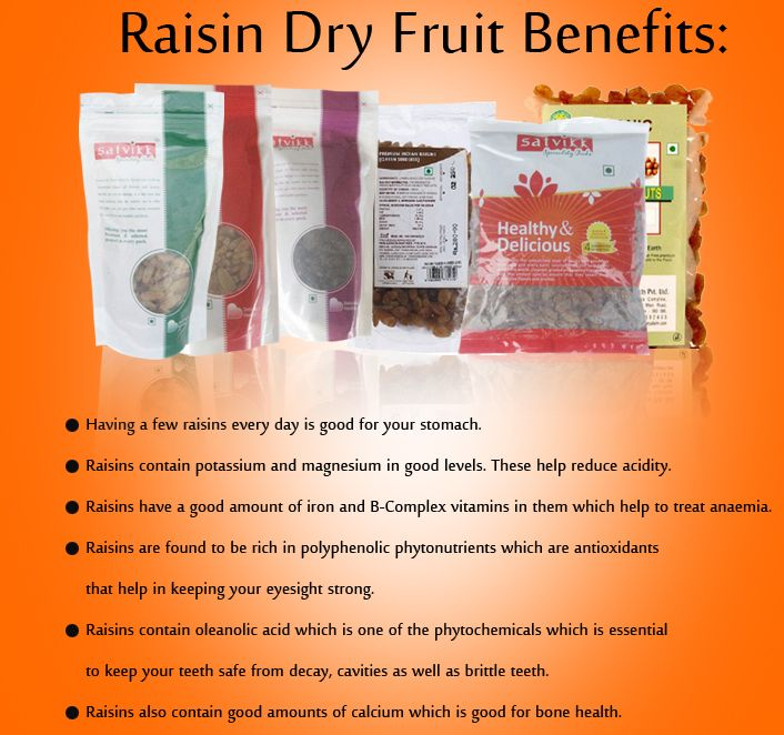 Raisin Dry Fruit Benefits: *Having a few #raisins every day is good for your stomach. *Raisins contain potassium and magnesium in good levels. These help reduce acidity. *Raisins have a good amount of iron and B-Complex vitamins in them which help to treat anaemia... Buy Raisin Online @ Best Price http://www.foodzu.com/raisin/