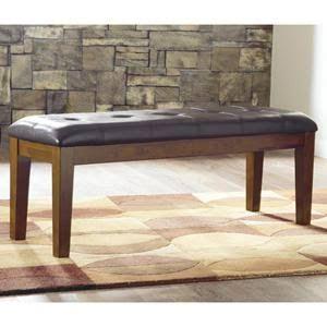 Ashley Furniture D594-00 Ralene Large Upholstered Dining Room Bench