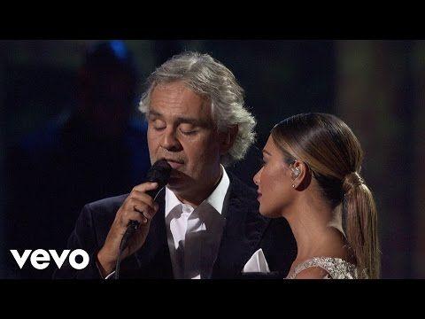 Andrea Bocelli, Nicole Scherzinger - No Llores Por Mi Argentina - YouTube