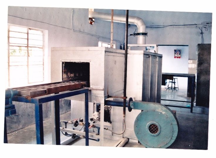 Implex Oiled Fired Continuous Pusher Type Indirect Heating Furnace