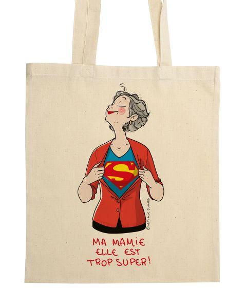 Sac en tissu, 38 X 42. Illustration signée  Nathalie Jomard ,imprimée dans les fibres du textile.   Imprimé en France , certifiéOeko-Tex ®.