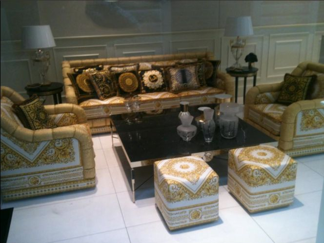 Best Versace Images On Pinterest Versace Black And Black Pillows - Creative and soft sofa for real fashionistas by versace