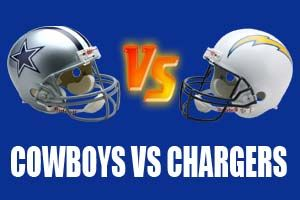 Dallas Cowboys vs San Diego Chargers Live NFL Streaming