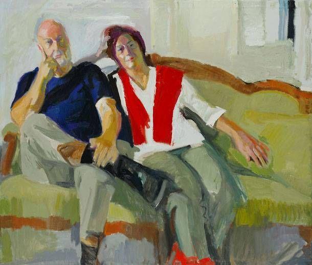 Double portrait, Panayiotis Tetsis