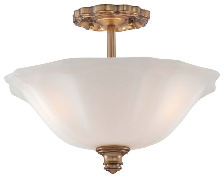 Minka Lavery 6597 3 Light Semi Flush Ceiling Fixture From The Felice Bath Collection