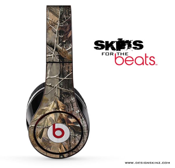 Camo Skin for the Beats by Dre www.michigancreative.org #cool #camo #beats