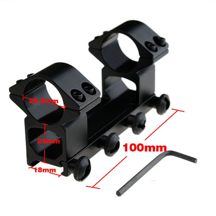 1pc High quality  25.4mm Ring Weaver Scope Mount Fit 18mm Rail Scope Mounts Rolling Weaver Mount Hunting Accessories