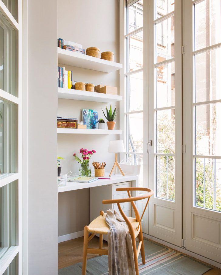 Уютная квартира с растительными мотивами в Барселоне   Пуфик - блог о дизайне интерьера