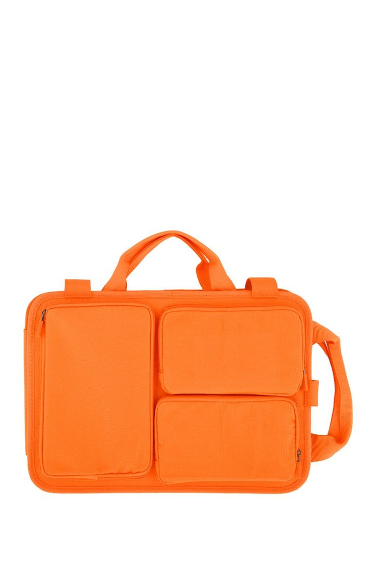Cadmium Orange Laptop Bag Organizer