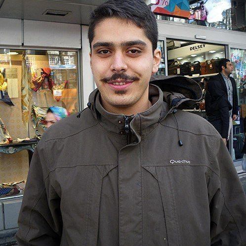 Title: Matin    Copy + Paste + Read more!  www.flickr.com/photos/kombizz/32130994720/    #kombizz #moustache   #men #sibil #facialhair #tehran #iran #islamicrepublicofiran  #islamic_republic_of_iran #face #facialexpressions #matin