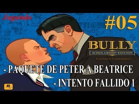 Jugando Bully Capítulo #5 Paquete Peter a Beatrice