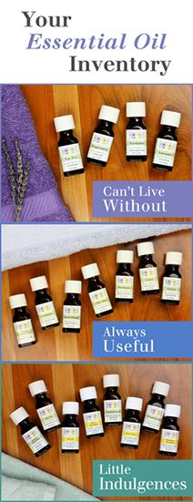 essential oil inventory