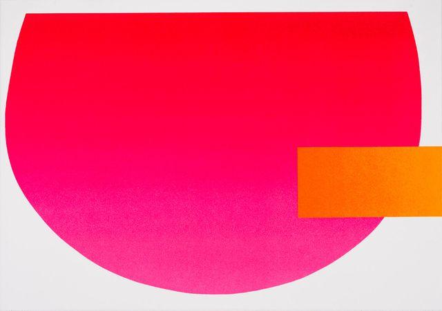 Rupprecht Geiger Rot Aktiv 2007 Walter Storms Galerie Artsy Artsy Pink And Orange Rot