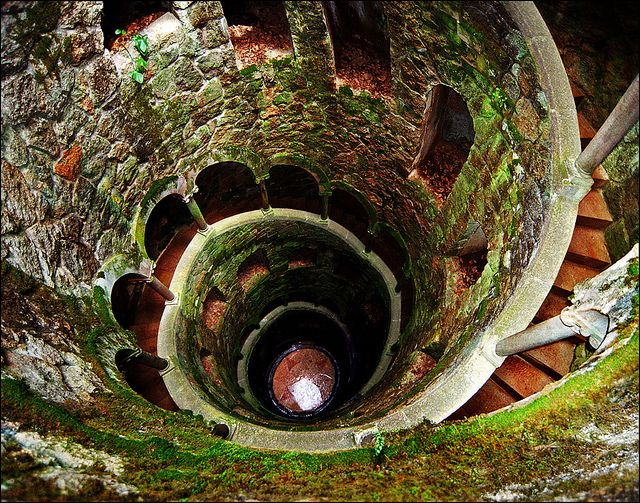 """""""Quinta da Regaleira is a palace and estate located in the hills surrounding the historic center of Sintra, Portugal. It is classified as a World Heritage Site by UNESCO. It is also known as the """"Palace of Monteiro the Millionaire"""" ~ by Katarina Stefanović @ flickr"""