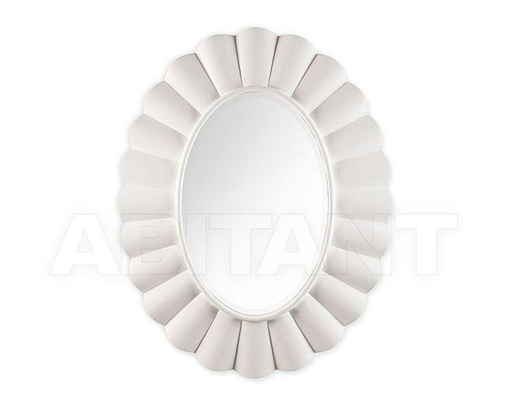 Зеркало настенное белое Christopher Guy 50-2971-B-BEV White Satin, Каталог аксессуаров и декора ABITANT Москва