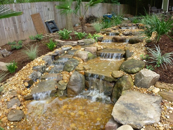 55 Best Pondless Waterfall And Firepit Images On Pinterest