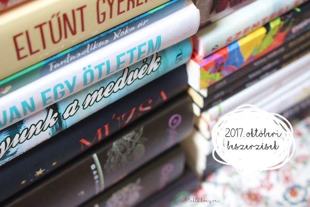 Tekla Könyvei – könyves blog: 2017. októberi beszerzések