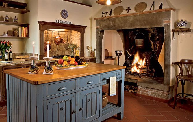 91 Best Kitchen Fireplaces Images On Pinterest