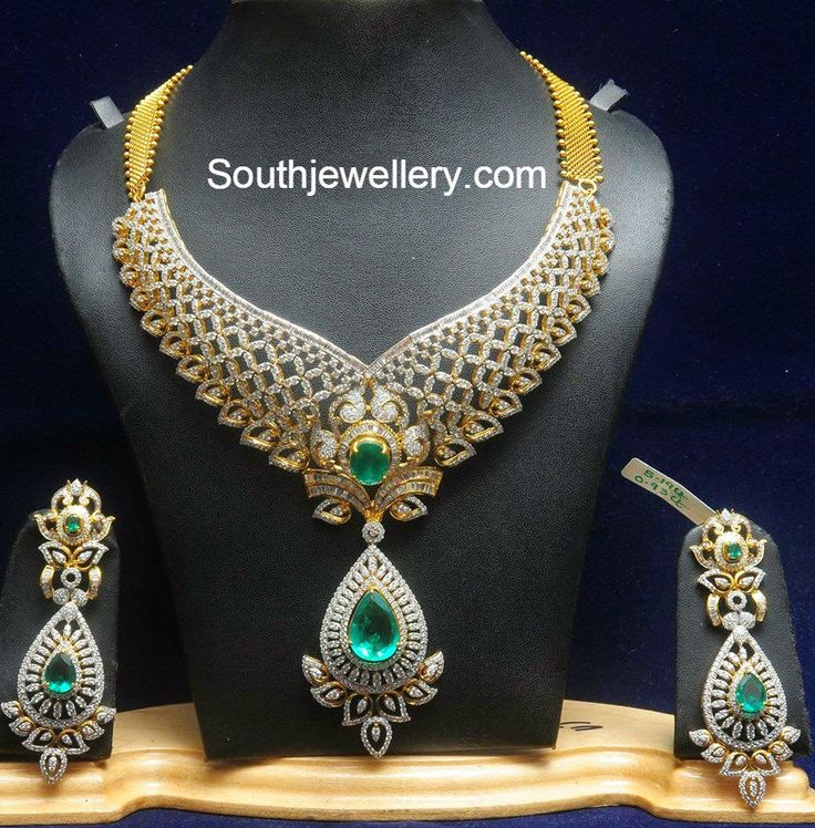 Indian Wedding Gold Necklace Jewellery Sets Gold Pendants: 78 Best Images About Indian Jewelry Designs On Pinterest