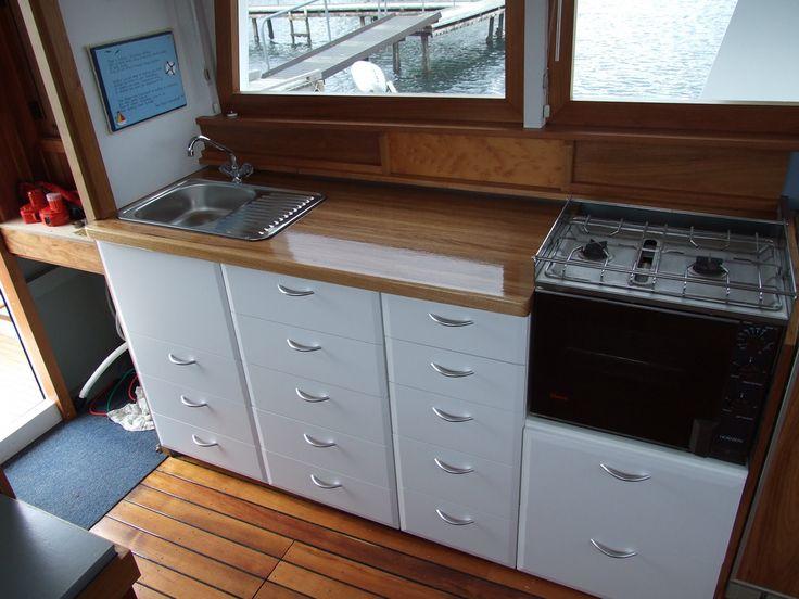 caravan kitchen benchtops interior of caravans - Google Search