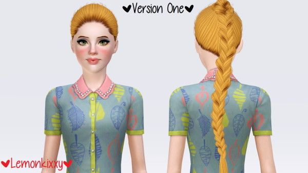 Alesso`s Apple hairstyle retextured by Lemonkixxy