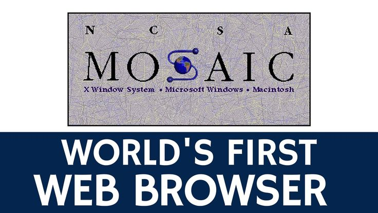 #UnDiacomoHoy 1993 en Internet aparece la versión 1.0 del primer navegador Web de la historia, Mosaic.