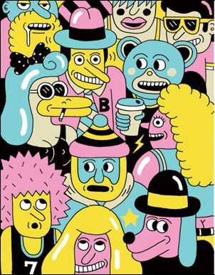 Andy Rementer illustration