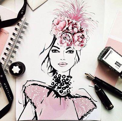 Fashion illustrator Megan Hess
