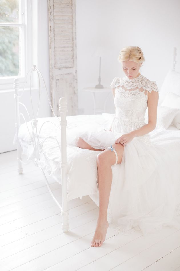 The Wedding Garter Co Debut Collection And A Very Special Reader Treat