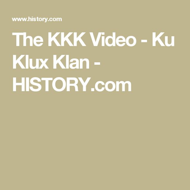 kkk essay thesis Early history of the ku klux klan 3 pages 811 words january 2015 saved essays save your essays here so you can locate them quickly.