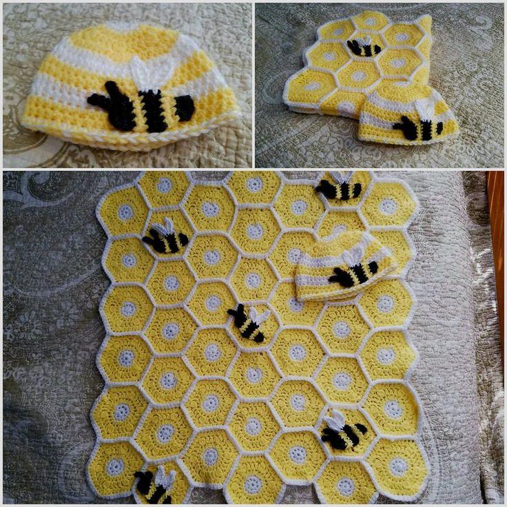 Image result for granny square baby blanket