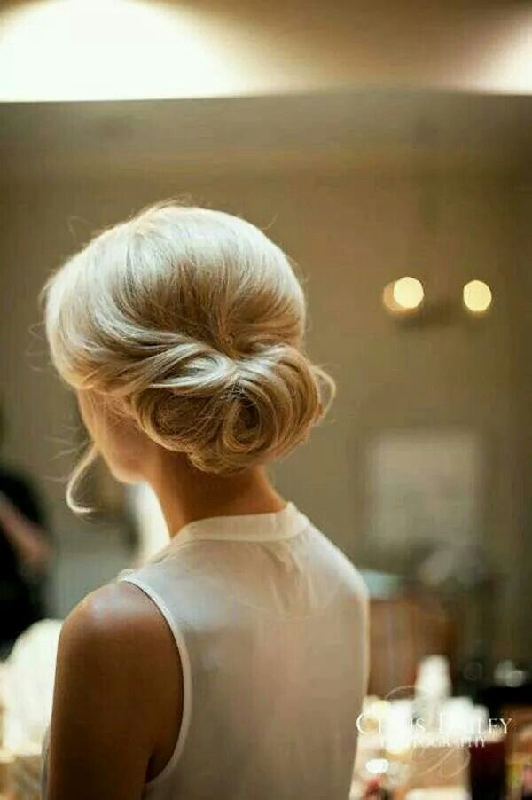 Beautiful Updo for a wedding or other  special occasion !