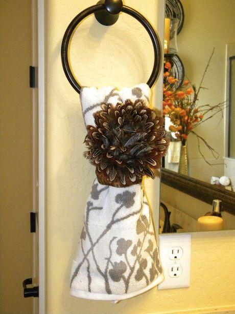 Best 25+ Bathroom towel display ideas on Pinterest Bath towel - bathroom towel decorating ideas