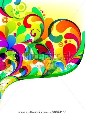 EPS10. Colorful editable background design