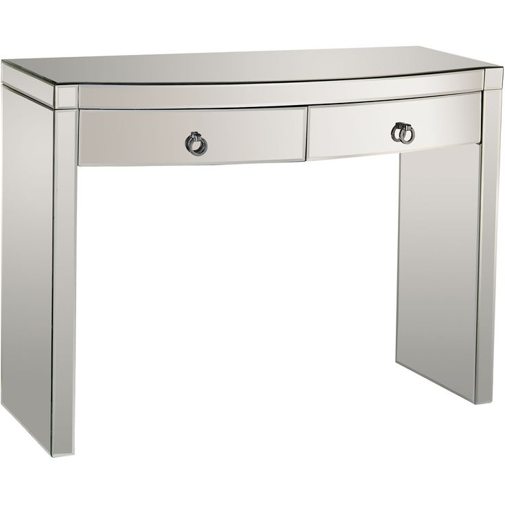 Bow Front Mirror Console Table | Dimond Home | Home Gallery Stores