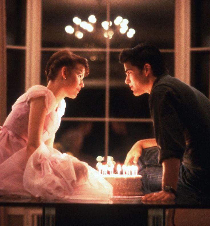 """Molly RingWald yMichael Schoeffling en""""Dieciséis Velas"""" (Sixteen Candles), 1984"""
