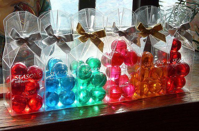 Liquid Bath Beads (Use to love to squish them)