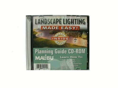Malibu Landscape Lighting Made Easy! Planning Guide CD-ROM by Malibu. $0.01. This planning guide helps you learn how to: Choose you lighting, Create a Lighting plan, Choose the correct power pack, Choose low voltage cable and install your system.