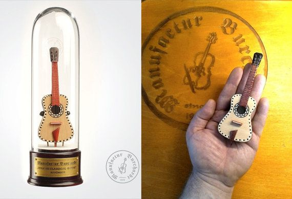 Handmade miniature instrument  Spanish by ManufacturBurchardt