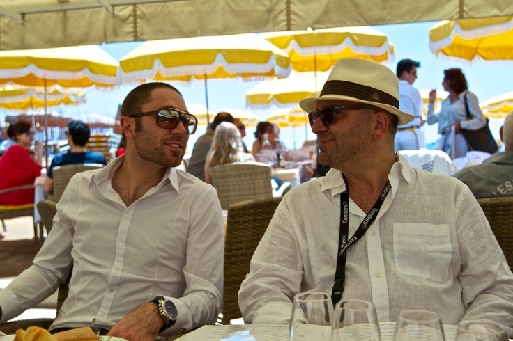 Talking Film, Food & Business in Cannes With A World Class Canadian Lawyer / Family Friend!!!...