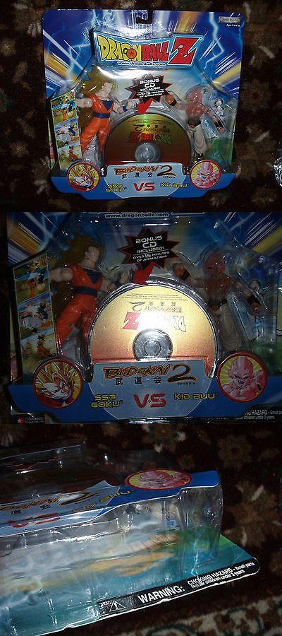 DragonBall Z 7117: Jakks Pacific Dragon Ball Z Action Figure: Budokai 2: Ss 3 Goku Vs Kid Buu -> BUY IT NOW ONLY: $59.99 on eBay!