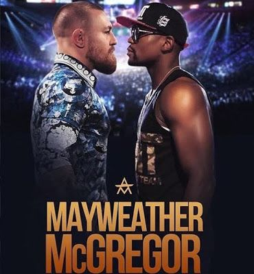 Connor McGregor says he will knock down Floyd Mayweather