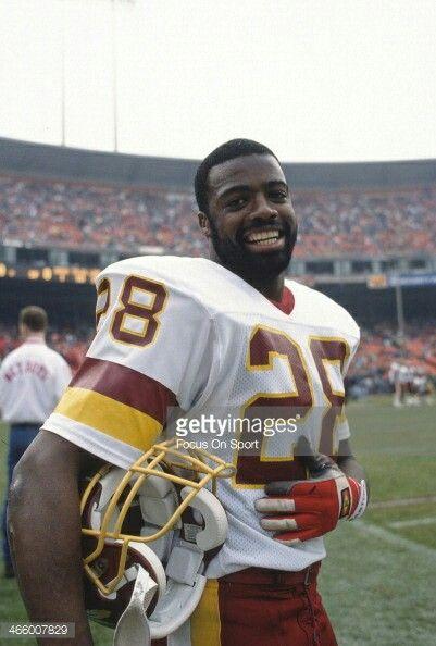 Darrell Green of the Washington Redskins.