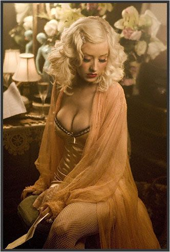 """Christina Aguilera. I love her and her """"I don't care what you think"""" attitude."""