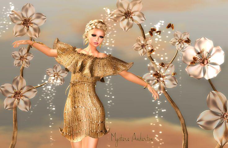Flor Maurer Antonella Gold  Market -->