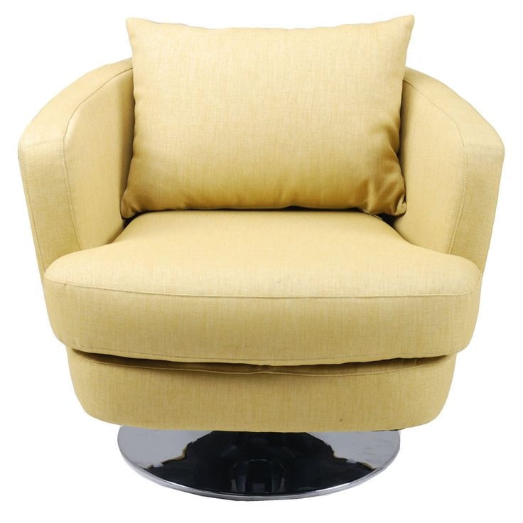 Moes Home Collection Penny Swivel Club Chair - FL-1003-29